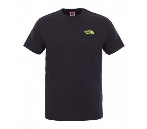 Tricou The North Face M S/S Redbox Negru/Verde