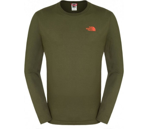 Bluza The North Face M Easy L/S Forest Green