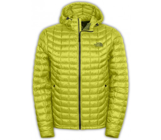 Geaca The North Face Thermoball Hoodie Galbena