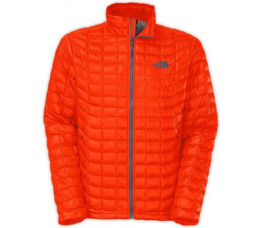 Geaca The North Face Thermoball Full Zip Portocalie