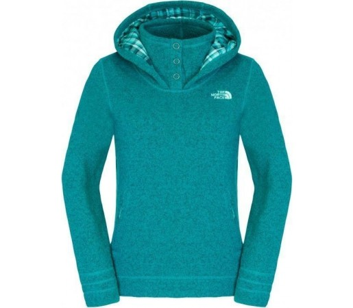 Midlayer The North Face Crescent Sunset Hoodie Green