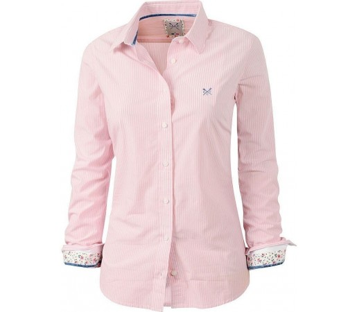 Camasa Crew Clothing Annie Clear Pink