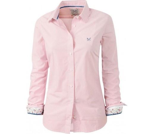 Camasa Crew Clothing Annie Clear Pink