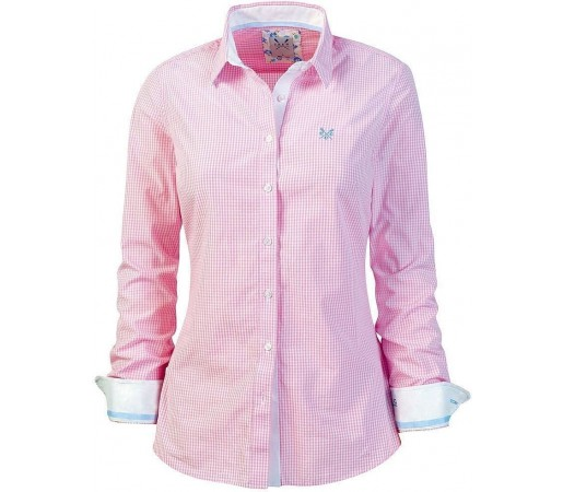 Camasa Crew Clothing Annie Pink