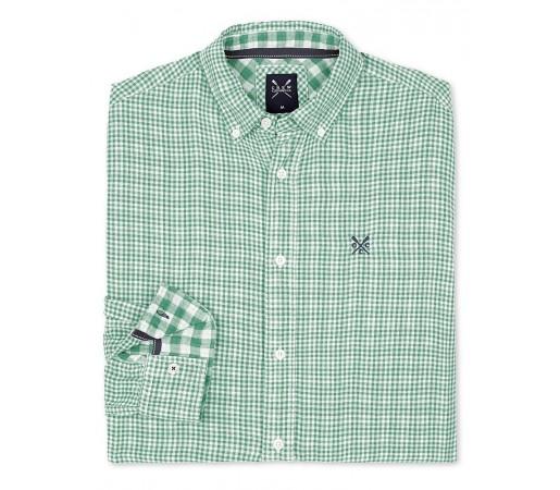 Camasa Crew Clothing Bardsey Check Verde
