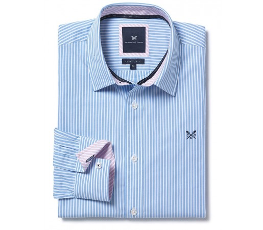 Camasa Crew Clothing Shirt Strip Albastra