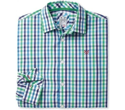 Camasa Crew Clothing Colnbrook Palmgreen