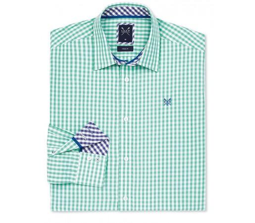 Camasa Crew Clothing Classic Gingham Verde