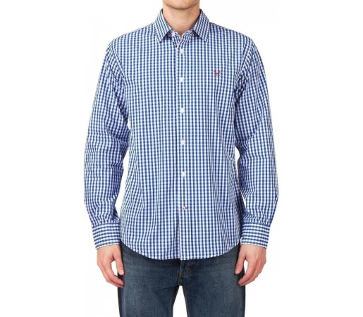 Camasa Crew Clothing Classic Gingham Royal