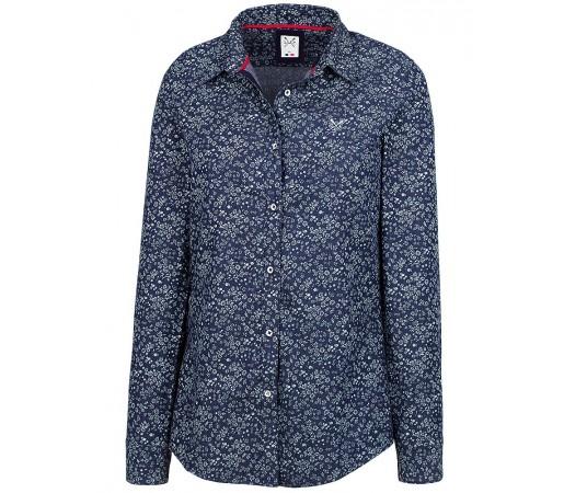 Camasa Crew Clothing Leonie Shirt Indigo/Alb