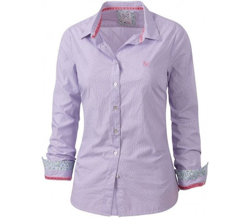 Camasa Crew Clothing Milly Lavender