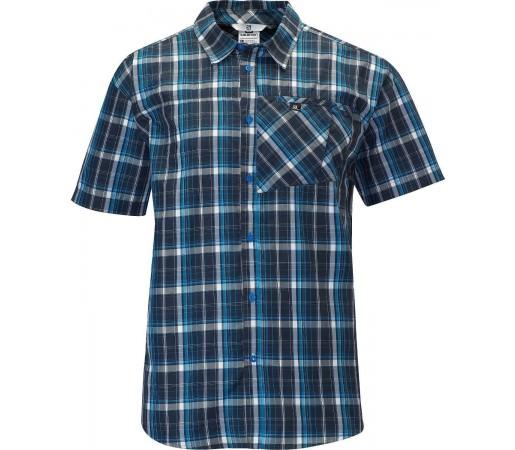 Camasa Salomon Checks Shirt M Blue 2013