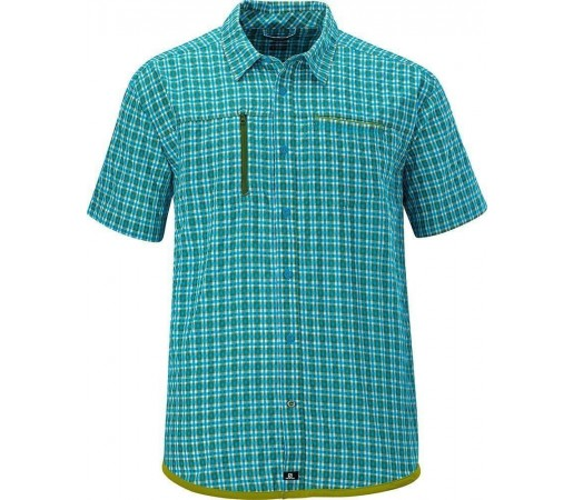 Camasa Salomon Echelon Shirt M Scuba Blue