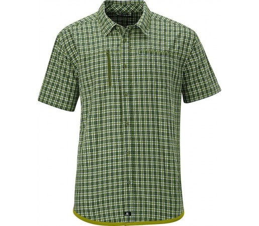Camasa Salomon Echelon Shirt M Scuba Green