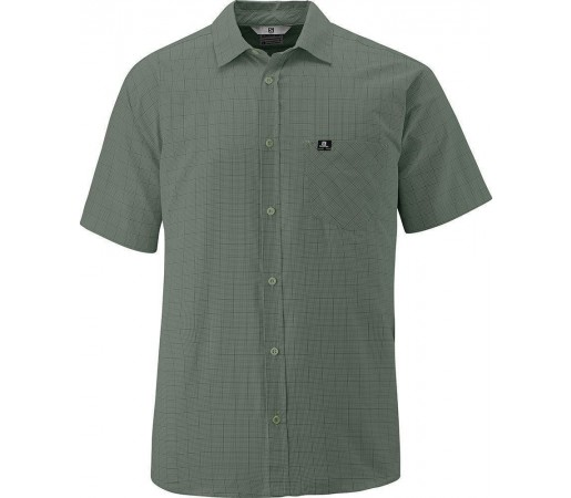 Camasa Salomon Start Shirt M Green