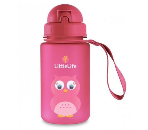 Cana cu pai Little Life Bufnita Roz