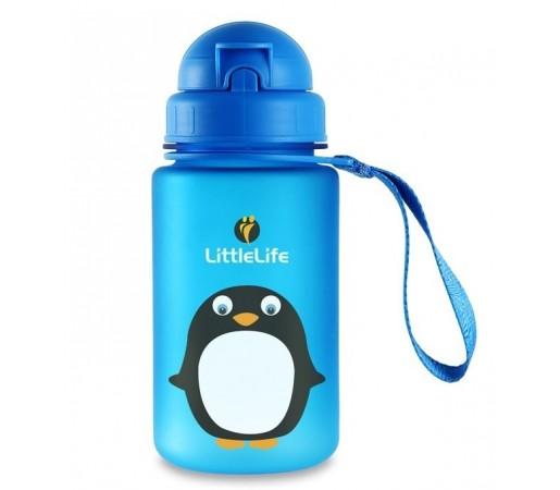 Cana cu pai Little Life Pinguin Albastra