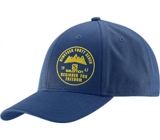 Sapca Salomon Logo Cap Albastru Inchis