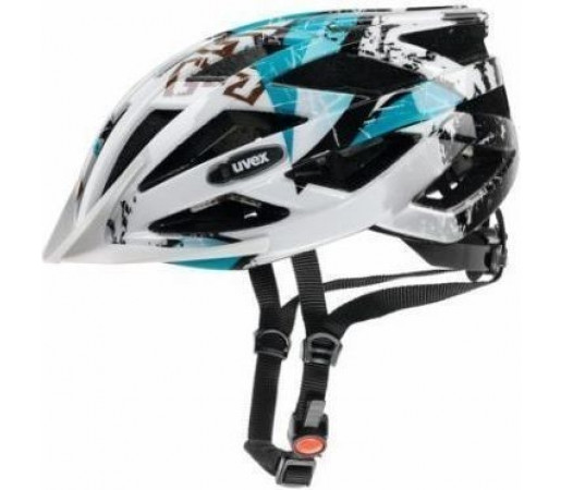 Casca bicicleta Uvex Airwing White- Black- Blue