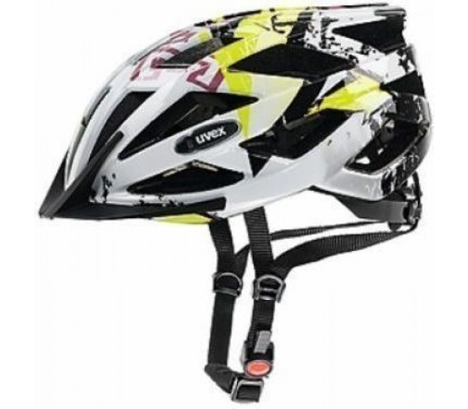 Casca bicicleta Uvex Airwing White- Black- Yellow
