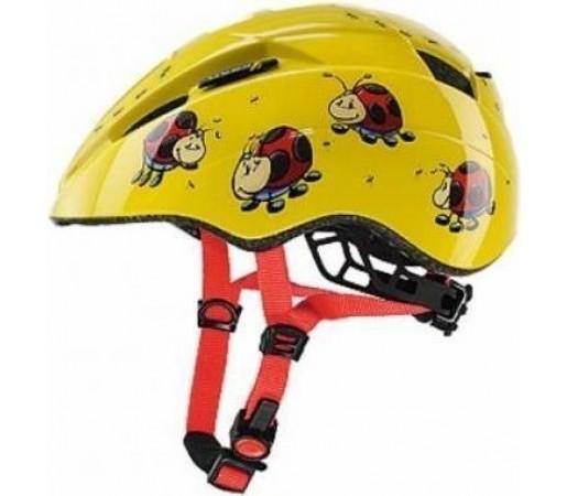Casca bicicleta Uvex Kid 2 Yellow- Red
