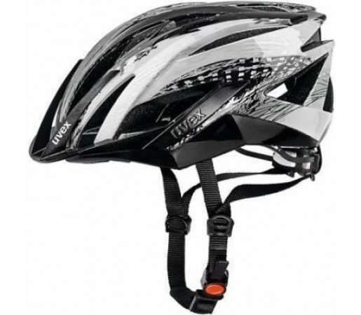 Casca bicicleta Uvex Ultrasonic Black- Silver