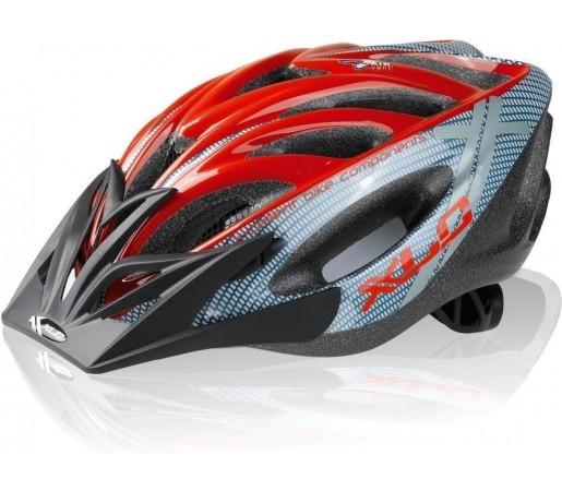 Casca bicicleta XLC 'Mt. Kenia' Grey- Red