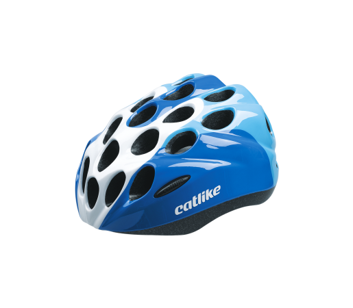 Casca ciclism Catlike Kitten R007 Alb/Albastru