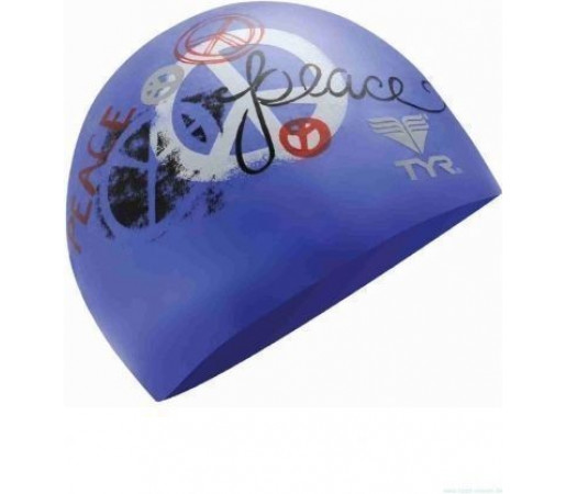 Casca inot Tyr Peace and Harmony bleu 2013