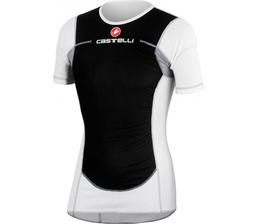 First layer Castelli Flanders Wind Alb/ Negru