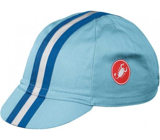 Sapca ciclism Retro 2 Cap Castelli Bleu
