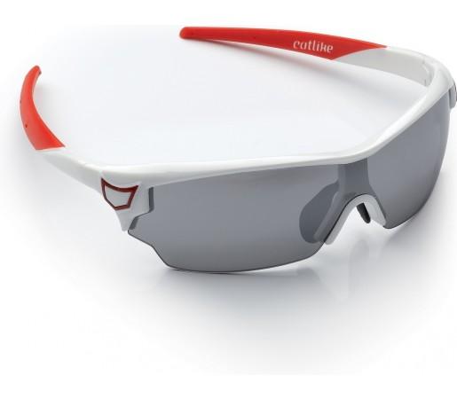 Ochelari ciclism Catlike DLux Micro Alb/ Rosu