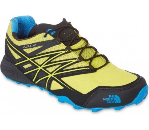 Incaltaminte alergare The North Face M Ultra Mt Galbena