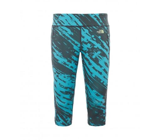 Pantaloni The North Face W Pulse Capri Verzi