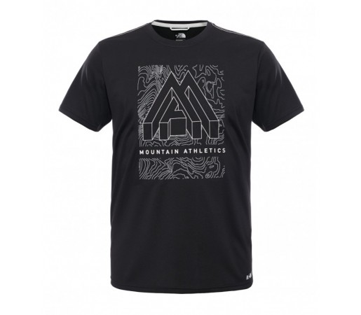 Tricou The North Face M MA Graphic Reaxion Amp Crew Negru