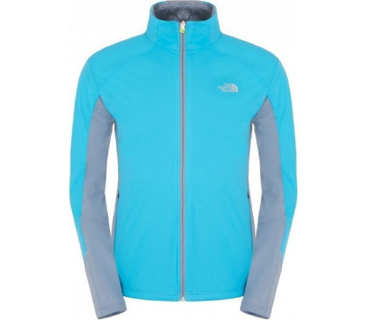 Geaca The North Face Flow Trail Light Blue/Grey