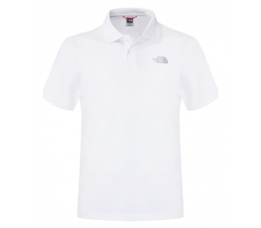 Tricou The North Face M Polo Piquet Alb/Gri