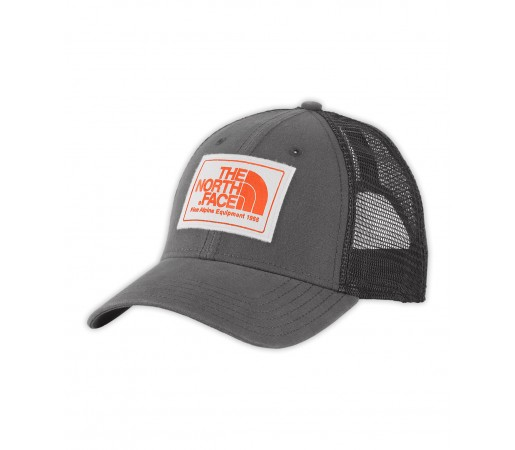 Sapca The North Face Mudder Trucker Gri/Portocalie