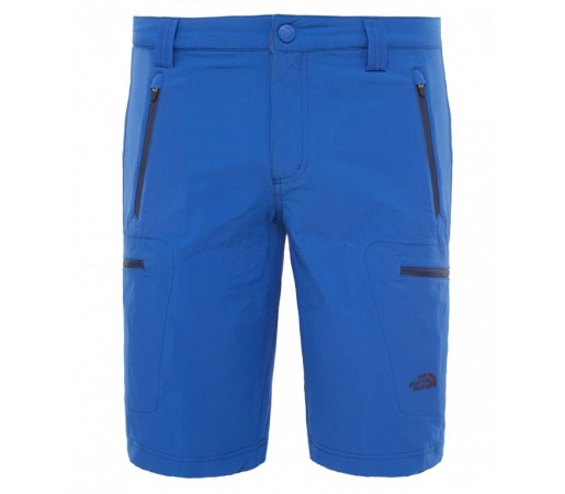 Pantaloni scurti The North Face M Exploration Albastri