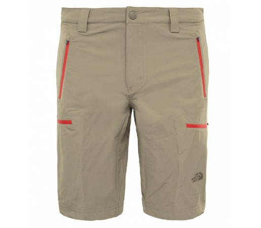 Pantaloni scurti The North Face M Exploration Maro