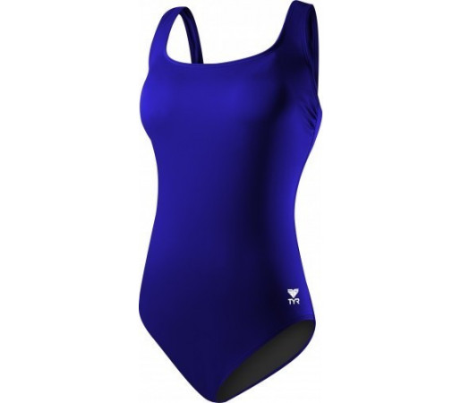 Costum de baie Tyr Solid Aqua Tank Blue