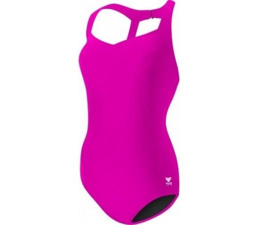 Costum de baie Tyr Solid Halter Controlfit Pink