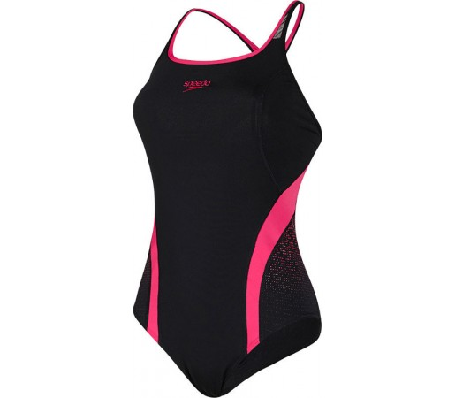 Costum de baie Speedo Woman Pinnacle Negru/Roz