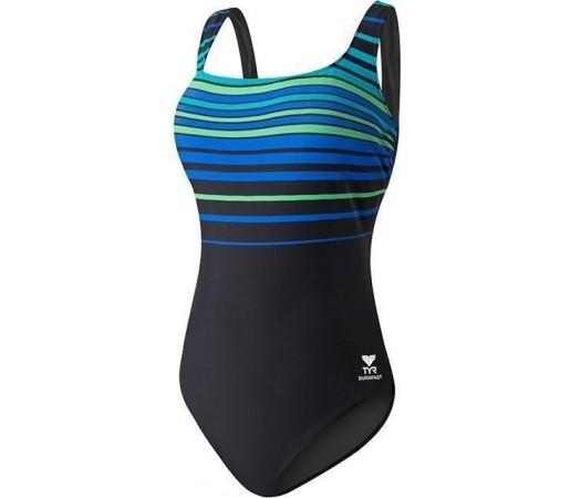 Costum de baie Tyr Panama Aqua Controlfit Blue