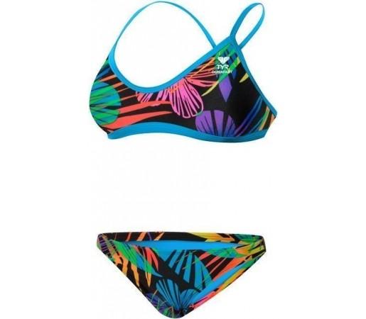 Costum de baie Tyr Safari Crosscutfit WOB Rainbow