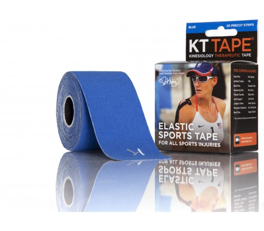 Benzi Kinesiologice Kt Tape Cotton Precut Blue
