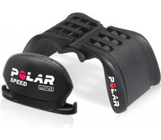 Senzor viteza Polar W.I.N.D. + sistem universal de prindere pentru bicicleta