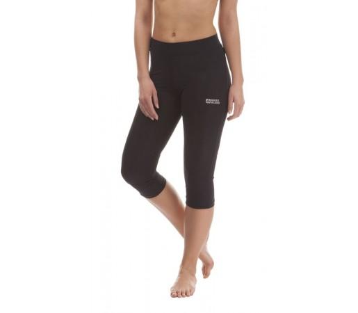 Pantaloni 3/4 fitness Nordblanc W Deft Negri
