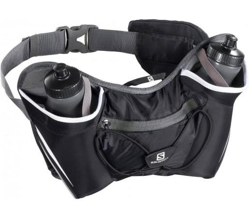 Curea alergare Salomon Twin Belt Black 2013