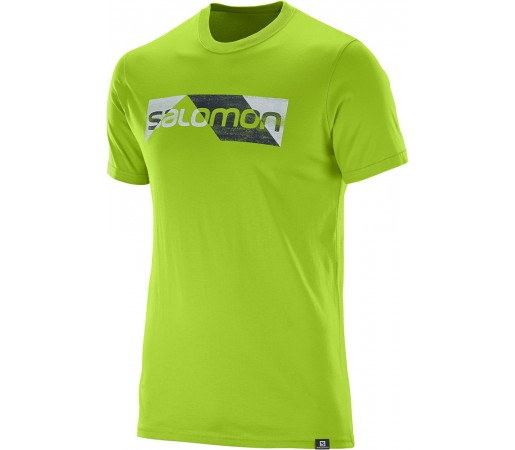 Tricou Salomon Cutter SS Cotton Tee M Verde